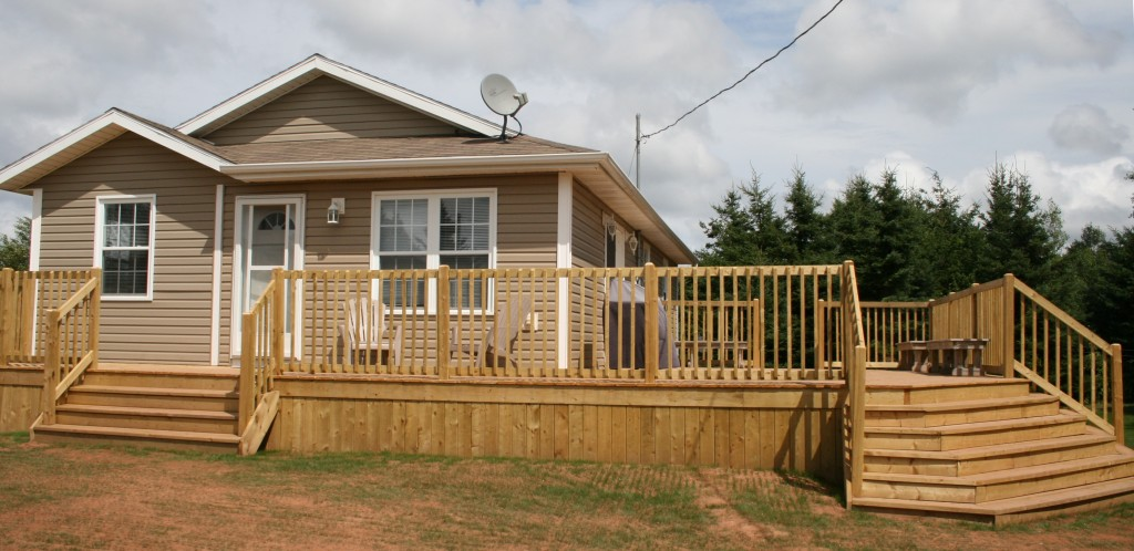 Cottage with Deck